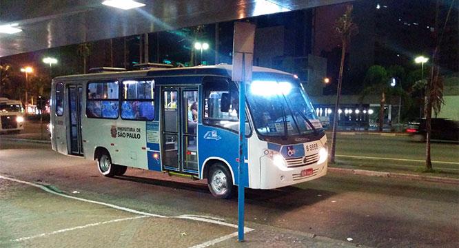 São Paulo finalmente terá circulação de ônibus de madrugada
