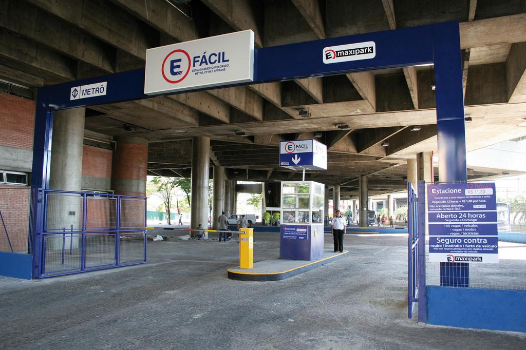 Fachada do E-Fácil do Brás - Metrô de São Paulo/Flickr