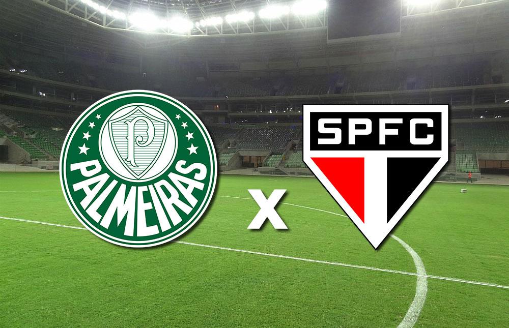Clássico no Palmeiras x São Paulo Allianz Parque