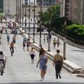 Minhocão será aberto para ciclistas e pedestres a partir do próximo sábado