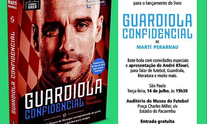 """Lançamento do Livro """"Guardiola Confidencial"""" no Museu do Futebol"""