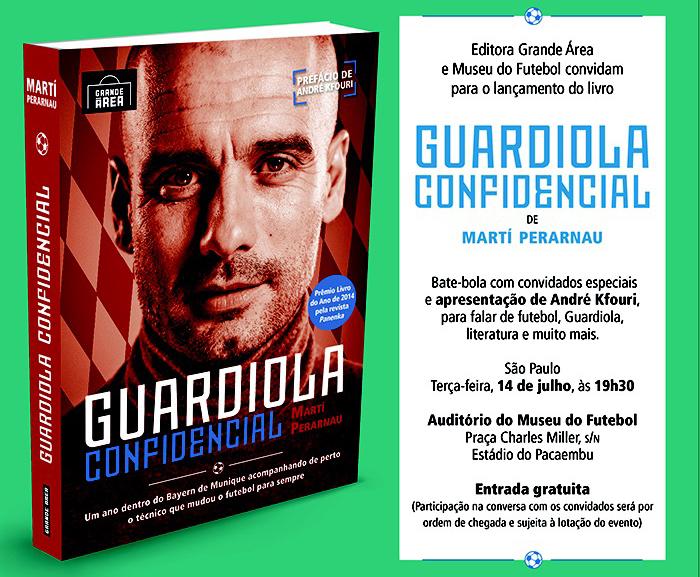 """Lançamento do Livro """"Guardiola Confidencial"""""""