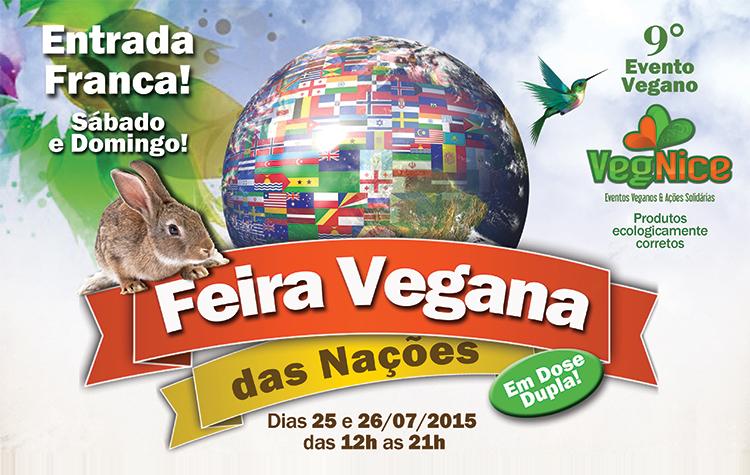 Feira Vegana das Nações - 9º VegNice