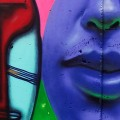 Muro da Estação José Bonifácio recebe grafite neste fim de semana